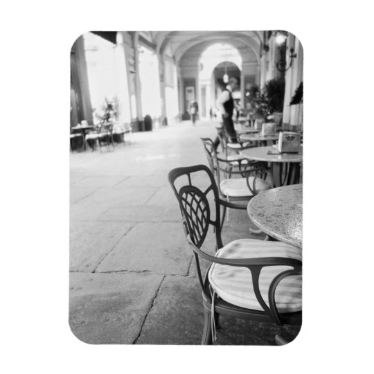 Turin Italy, Cafe and Archway Magnet