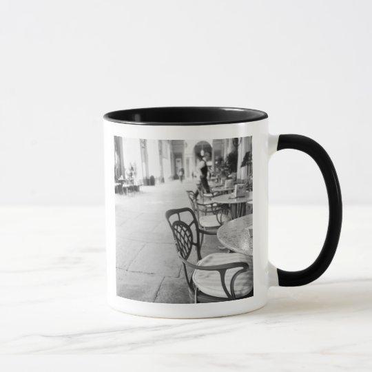 Turin Italy, Cafe and Archway Mug
