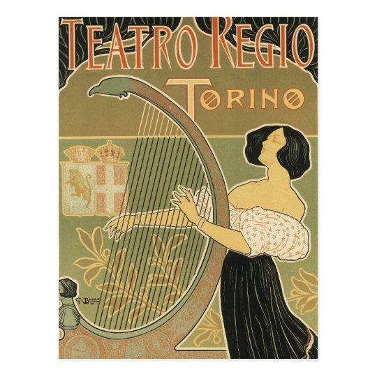 Turin Royal Opera House Postcard