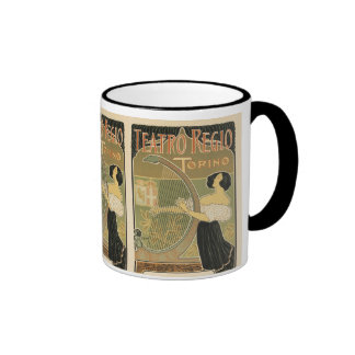 Turin Royal Opera House Ringer Mug