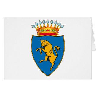 Turin (Torino) Coat of Arms Greeting Card
