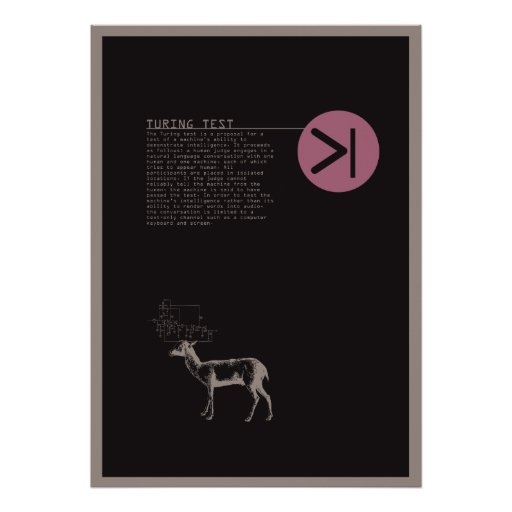 turing test poster