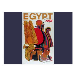Turismo antiguo de la cultura del transporte aéreo tarjetas postales