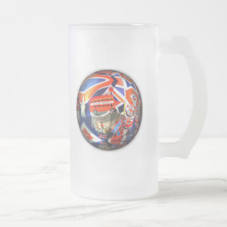Turismo británico tazas de café