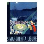 Turismo de Santa Margherita Ligure Italia del Postales