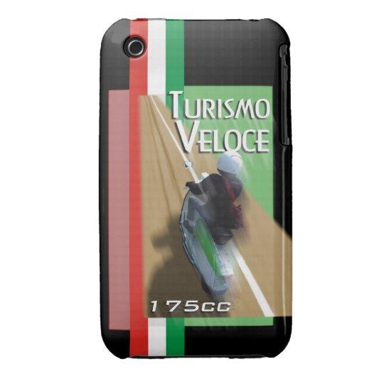 turismo veloce 175cc iPhone 3 case