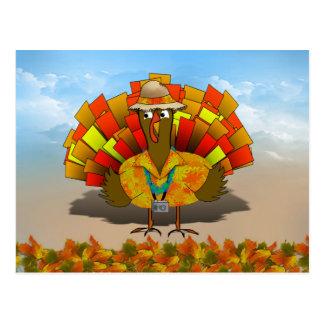 Turista de Turquía el vacaciones Postal