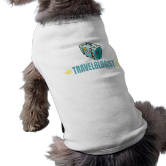 Turista divertido ropa perro