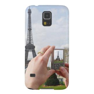 Turista en París Funda De Galaxy S5