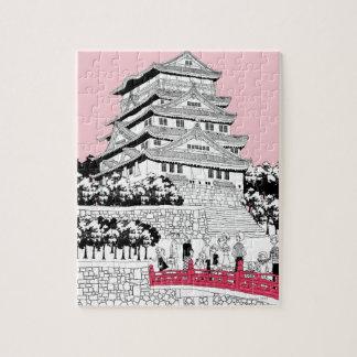 Turistas en el puente puzzles con fotos