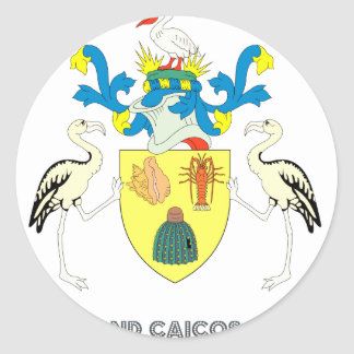 Turk Emblem Round Sticker