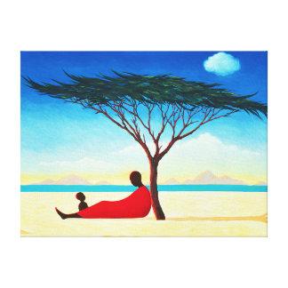 Turkana Afternoon 1994 Canvas Print