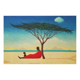 Turkana Afternoon 1994 Wood Print
