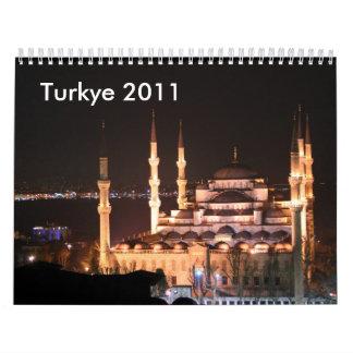 Türkei Calendarios De Pared