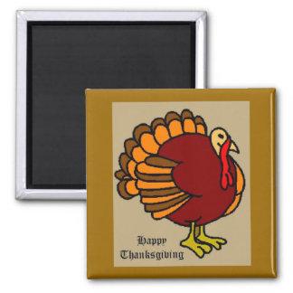 turkey6 imán cuadrado