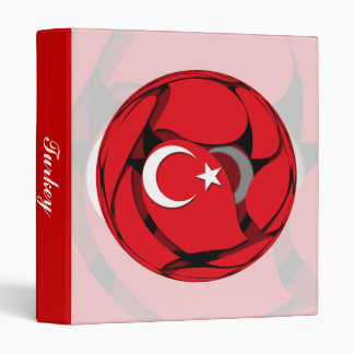 Turkey #1 3 ring binder