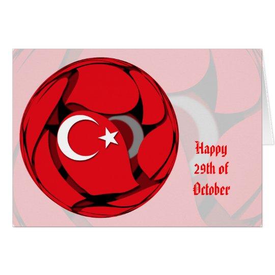Turkey #1 card