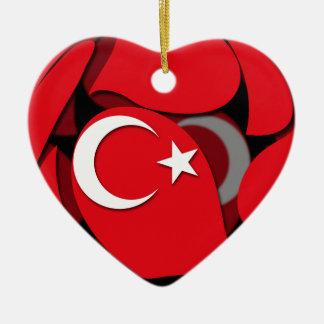Turkey #1 ceramic ornament