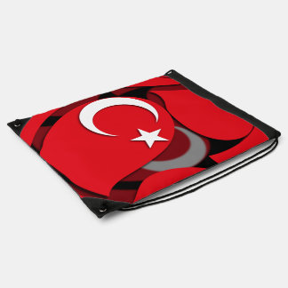 Turkey #1 drawstring backpack