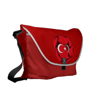 Turkey #1 messenger bag