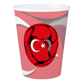 Turkey #1 paper cup
