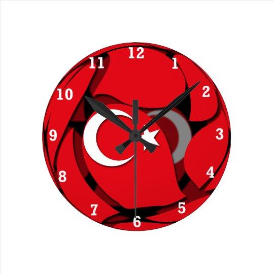 Turkey #1 round clock