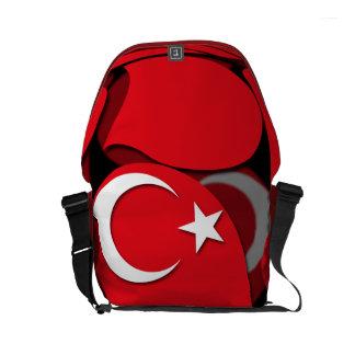 Turkey #1 small messenger bag