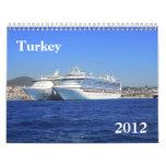Turkey 2012 Calendar