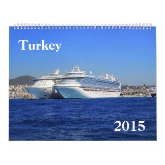 Turkey 2015 Calendar