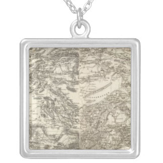 Turkey 5 silver plated necklace