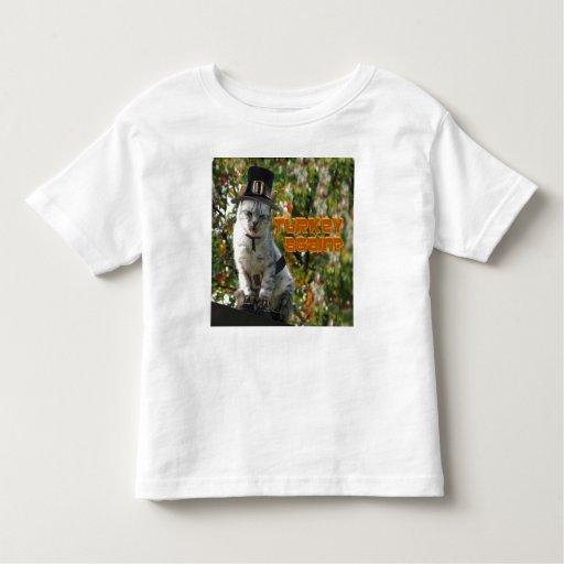 TURKEY AGAIN? Pilgrim Cat Tshirt