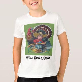 turkey and farm boy vintage T-Shirt