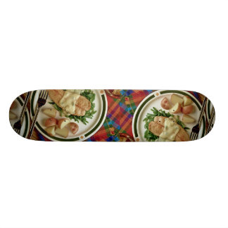 Turkey and potatoes skateboard decks