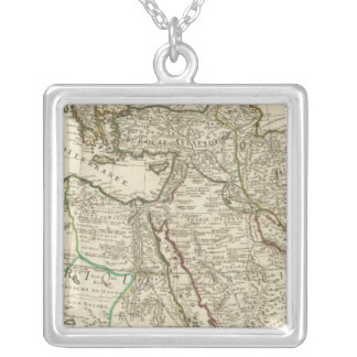 Turkey and Sweden Silver Plated Necklace