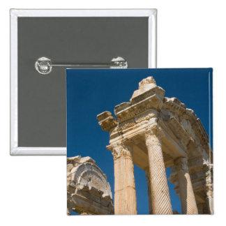 Turkey Aphrodisias a Roman Archaelogical Site Button