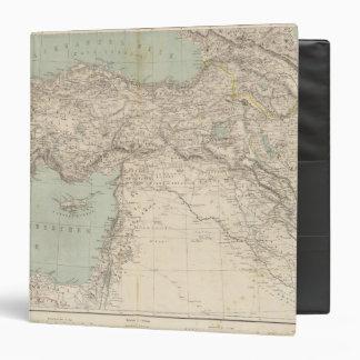 Turkey Atlas Map Binders