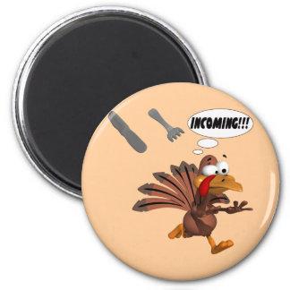 Turkey Attack Magnet