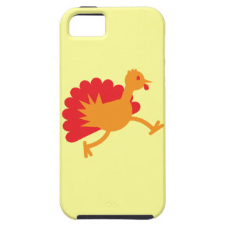 Turkey bird on the run! iPhone SE/5/5s case