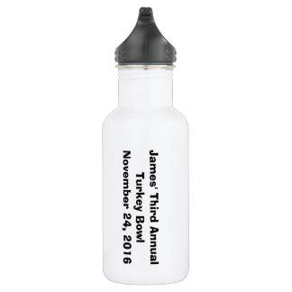 Turkey Bowl 2016 Water Bottle