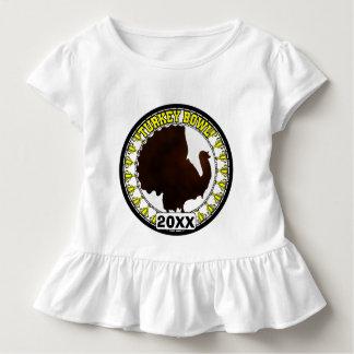 Turkey Bowl -change year to current year below Toddler T-shirt