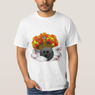Turkey - Bowling Strike T-Shirt