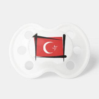 Turkey Brush Flag Pacifier