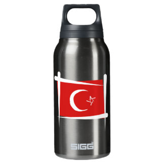 Turkey Brush Flag SIGG Thermo 0.3L Insulated Bottle