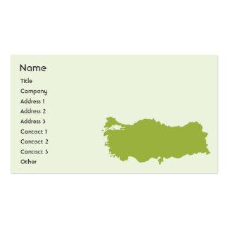 Turkey - Business Business Card Template