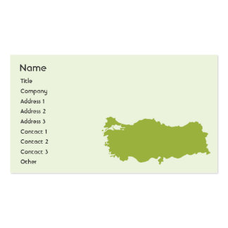 Turkey - Business Business Cards