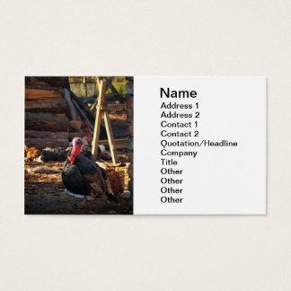 Turkey Business Card
