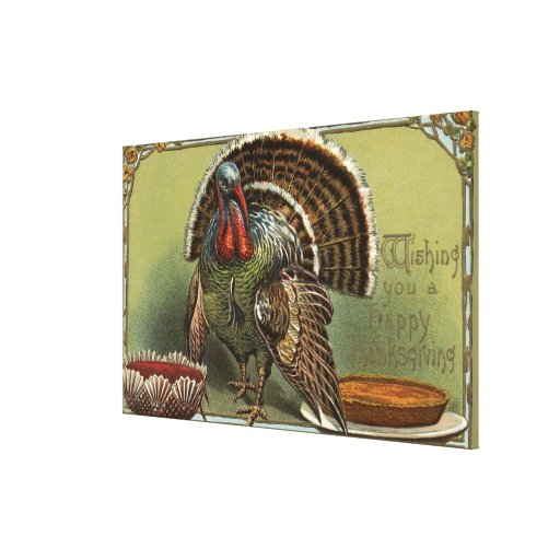 Turkey by Punch and Pie Gallery Wrapped Canvas