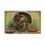 Turkey by Punch and Pie Post Card