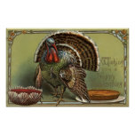 Turkey by Punch and Pie Posters