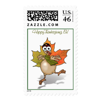 TURKEY Canadian Thanksgiving Postage Stamp